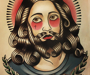 jesus, parlor, and love image