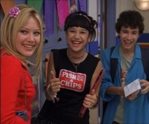 childhood and lizzie mcguire image