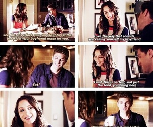 pll, spencer, and toby image