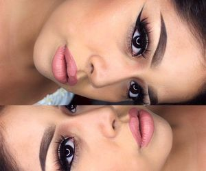 beauty, gorgeous, and eyeliner image