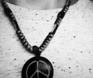 black and white, hipster, and jewelry image