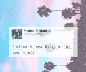 tweet, 5sos, and michael clifford image