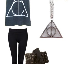 boots, harrypotter, and outfit image