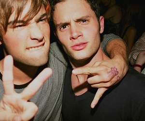 gossip girl, Chace Crawford, and Penn Badgley image