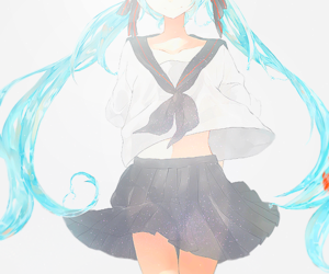 anime, girl, and vocaloid image