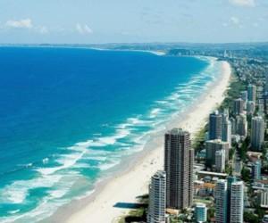 city, ocean, and sea image