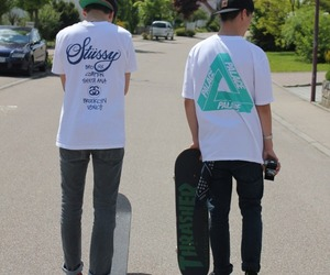 boys, skaters, and skates image