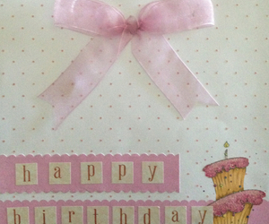 bows, cake, and card image