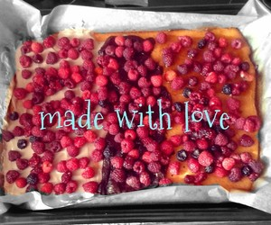 cake, food, and love it image