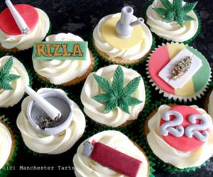 cupcake and weed image