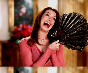 Anne Hathaway, funny, and princess image