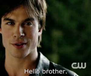brother, salvatore, and the vampire diaries image