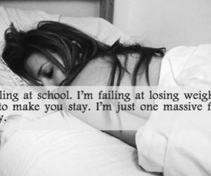 failure, sad, and depressed image