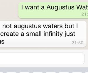 couple, augustus waters, and cute image