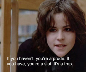 quotes, The Breakfast Club, and slut image
