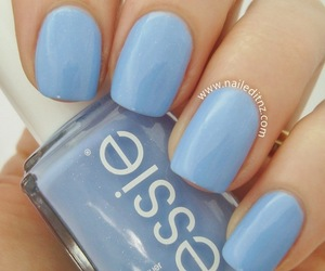 blue, nails, and nailed it nz image