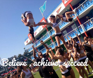 cheer, pyramid, and quote image
