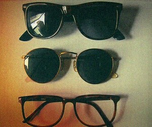 glasses, vintage, and sunglasses image