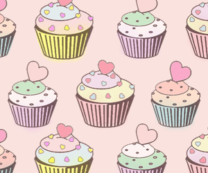 cupcakes, sweet, and tierno image