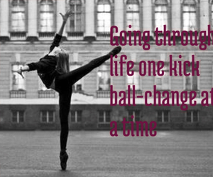 dance, quote, and split image