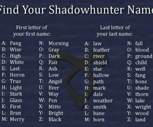 shadow hunter and the mortal instruments image