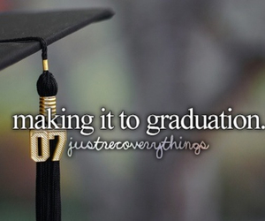 depression, graduation, and recovery image
