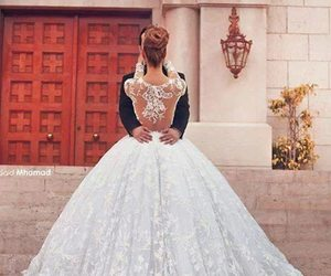 bride, fashion, and jewelry image