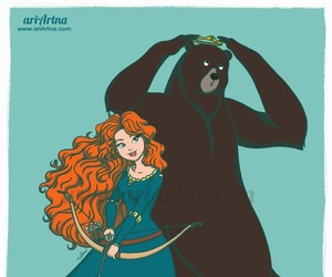 merida e elinor image