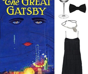 20s style, gatsby style, and gatsby party idea image