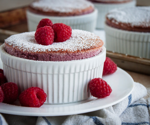 cake, chocolate, and souffle image