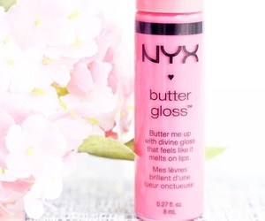 NYX, pink, and butter gloss image
