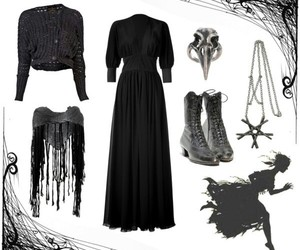 fashion, gothic, and look image