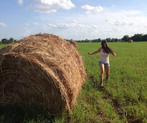 adventure, boots, and hay image
