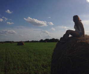 boots, hay, and countrygirl image