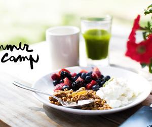 breakfast, flower, and garance dore image