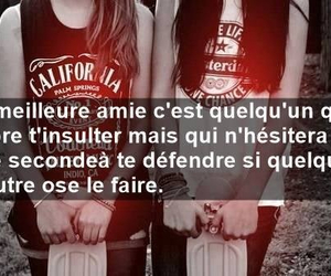 meilleure amie and love image