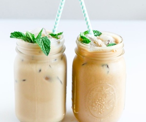cream, delicious, and drinks image