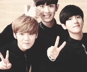 exo, chanyeol, and luhan image