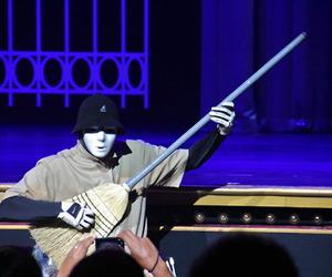 broom, dancers, and jabbawockeez image