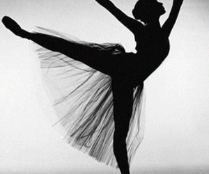 :), girl, and ballet image