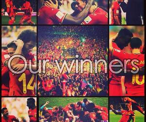 belgian, brasil, and football image