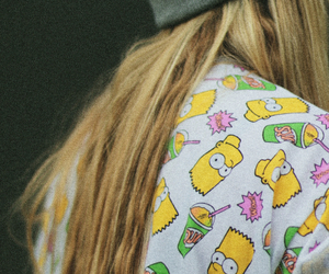 simpsons, bart, and blonde image