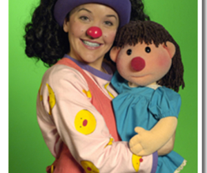 clown, molly, and the big comfy couch image