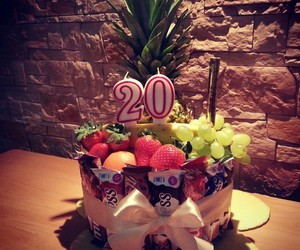 delicious, birthday, and cake image