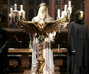dumbledore, harry potter, and london image