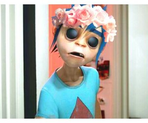 2d, edit, and flower crown image