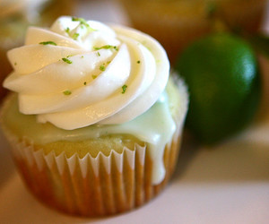 cake, lime, and cupcake image