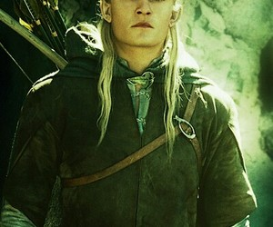 elf, lord of the rings, and Legolas image