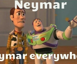 neymar, toy story, and world cup image