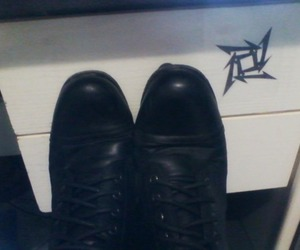 band, black, and boots image